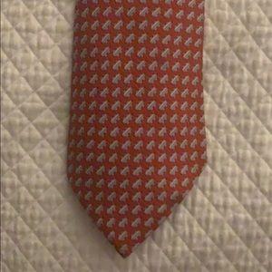 100% Genuine Men's Hermès Silk Necktie